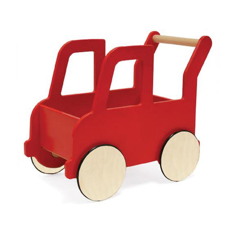 Red Truck Push Cart