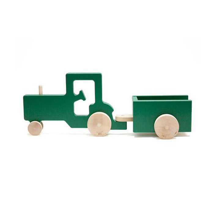 Tractor Trailer Push Toy