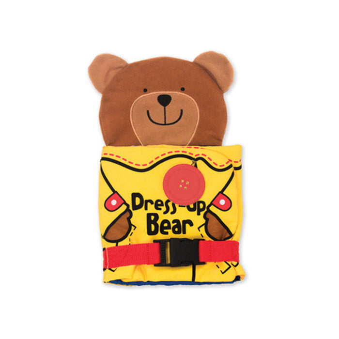 Dress Up Bear Soft Book