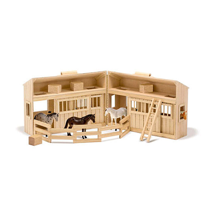 Fold and Go Stable Play Set