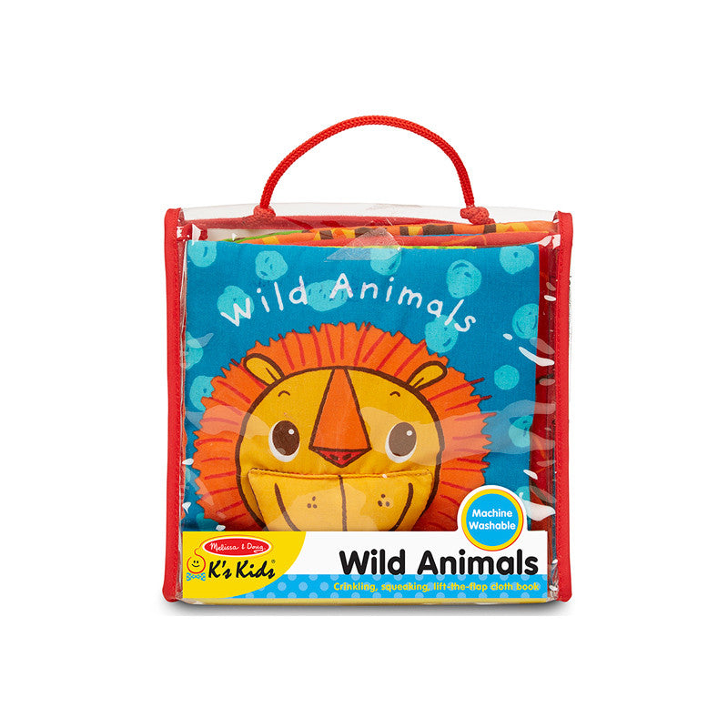 Wild Animals Soft Book