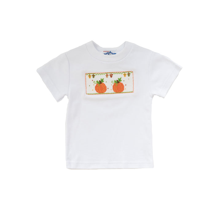 Pumpkin Patch Smocked Tee