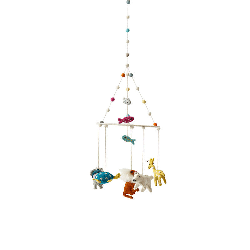 Keep your children locked in daydreams with Peaches Mobiles! From animlas to sea creatures, our Mobiles will have your children drifting into sleep in no time. Shop Peaches collection here!
