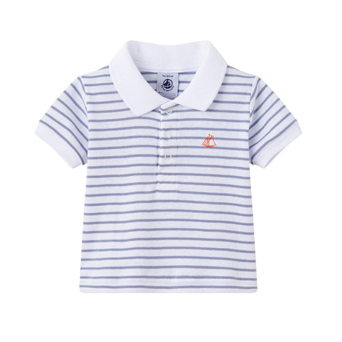 Sailor Striped Polo Shirt