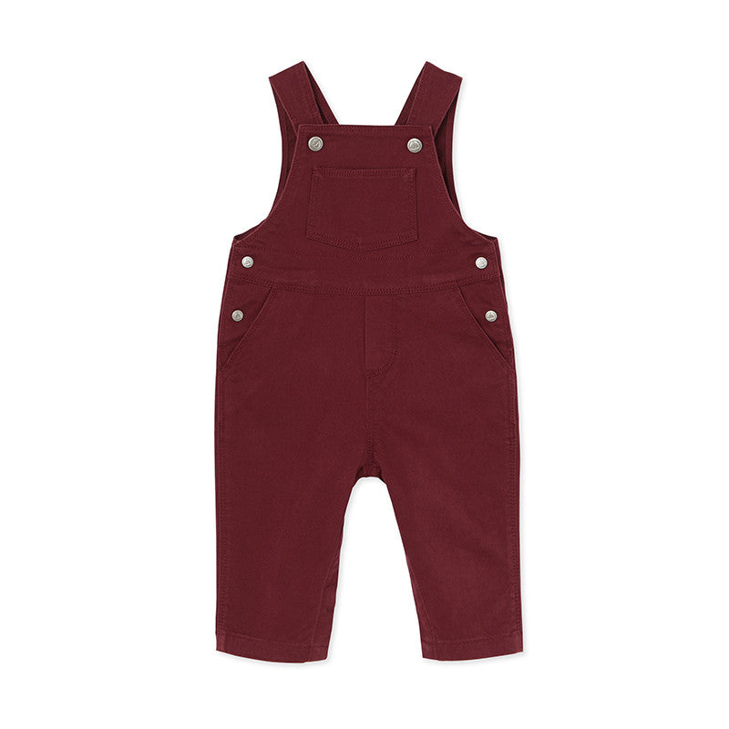 Burgundy Overalls <br/> (Monogram Included)