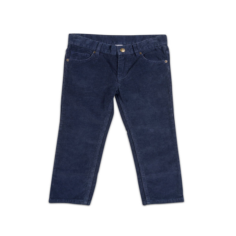 Navy Toddler Corduroy Pants