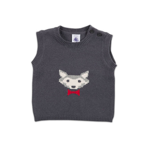 Wolf Pullover Vest