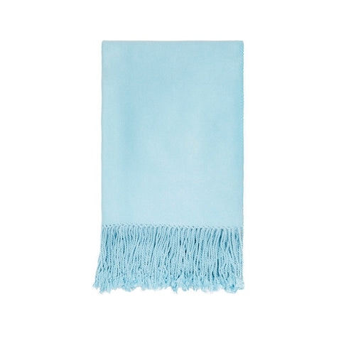 Blue Bamboo Luxury Nursery Throw