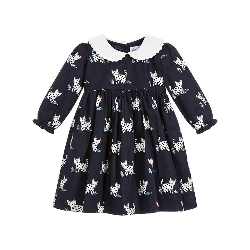 Peter Pan Collar Kitty Dress