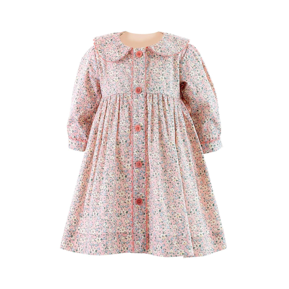 Daisy Button Front Dress