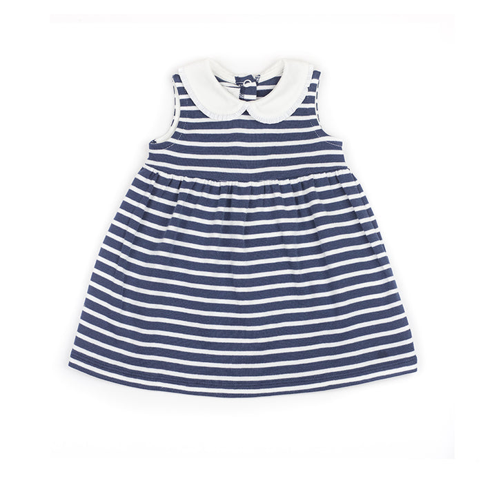 Breton Navy & White Striped Dress