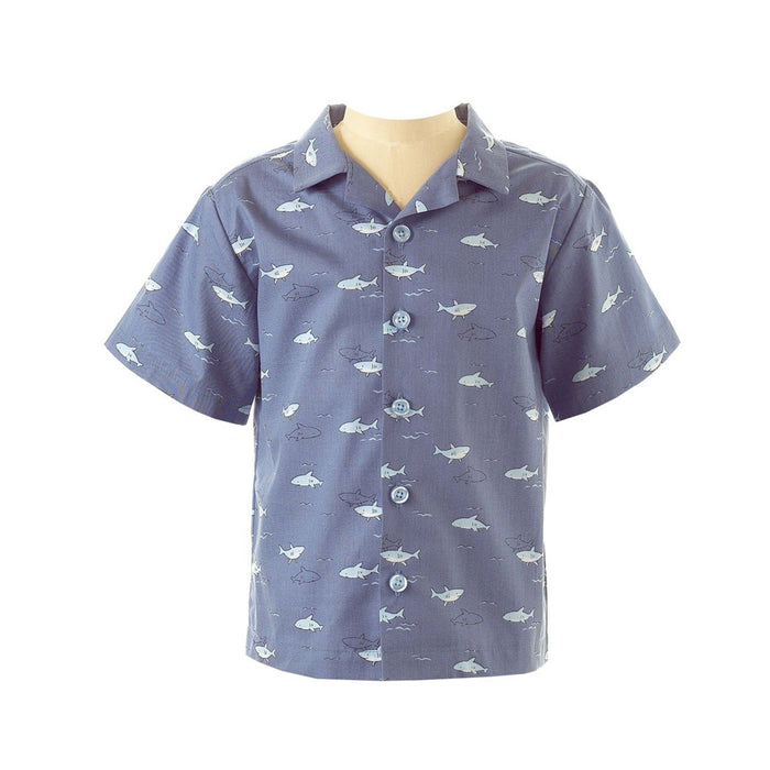 Oxford Shark Shirt