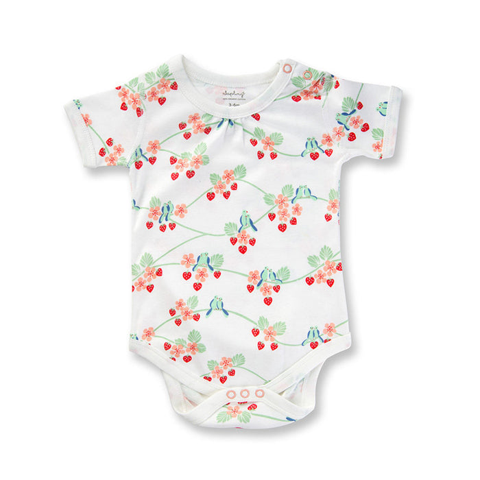 Bluebirds Short Sleeve Bodysuit