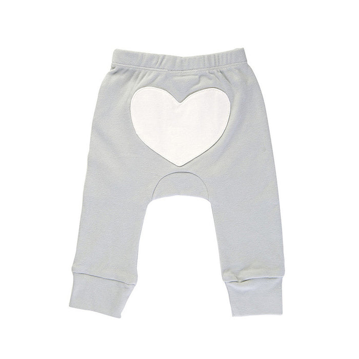 Heart Pants Peach, Pink, Blue, Grey