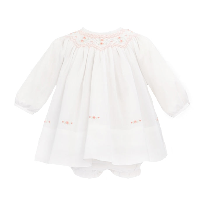 White Bishop Dress with Bloomers