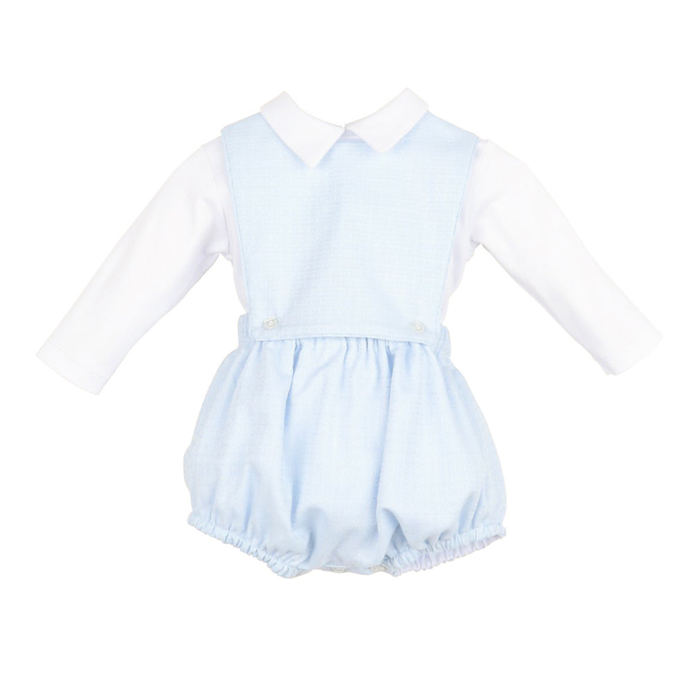 Candyland Boy's Blue Overall Set