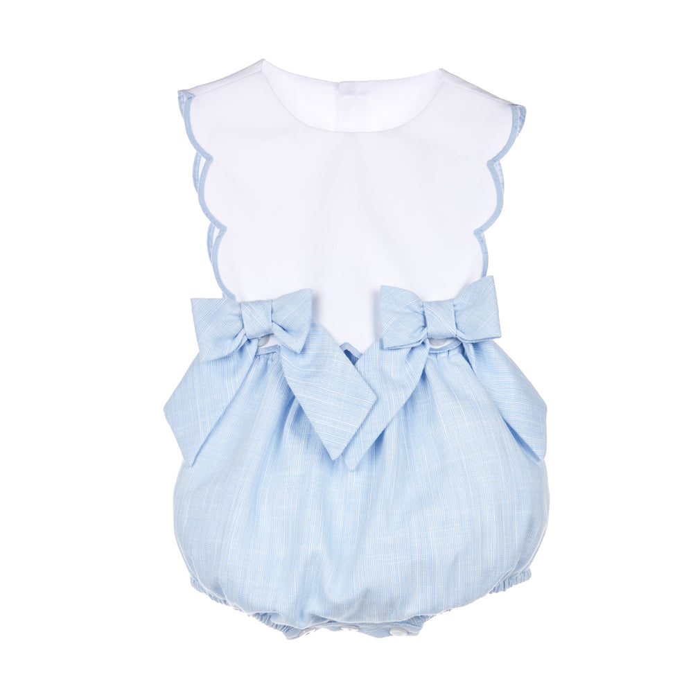 Carolina Scallop Overall for Girls