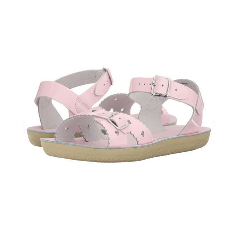 pink salt water sandals for kids