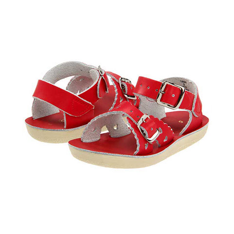 Red Sweetheart Sandals