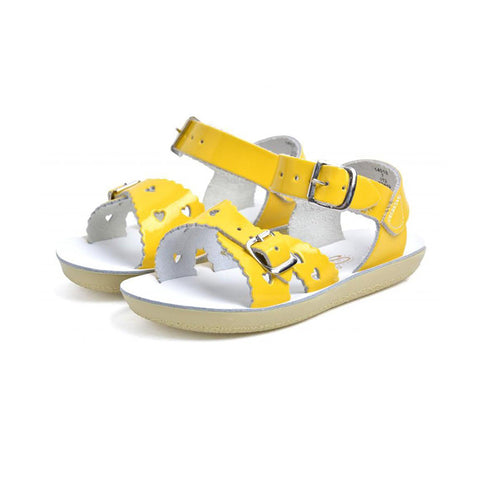 Yellow Sweetheart Sandals