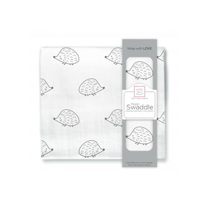 Critters on Muslin Swaddle Blankets