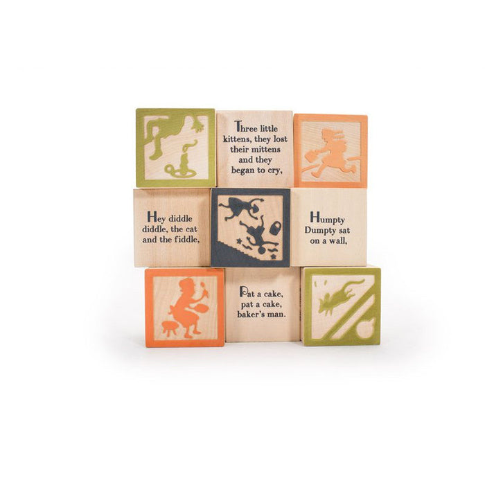 Favorite Nursery Rhyme Blocks