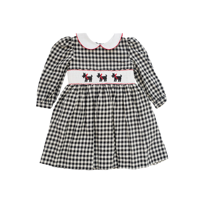 Scottie Smocked Dress
