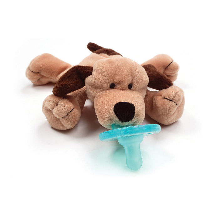 Brown Puppy Pacifier