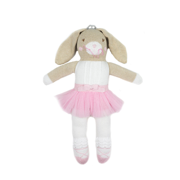 Hand Knit Ballet Bunny