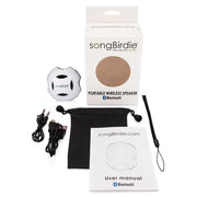 gbsbt - Gloss White speaker- songBirdie