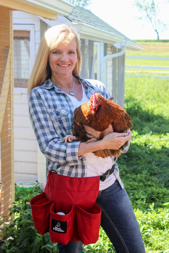 New Hen Pouch™ available for backyard chicken raisers