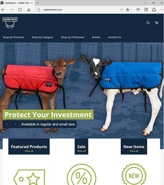 Udder Tech, Inc. unveils new, mobile-friendly website