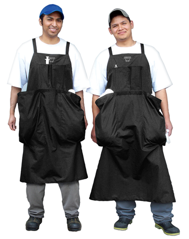 Cloth Towel Apron, 2 Large Pockets - Waterproof