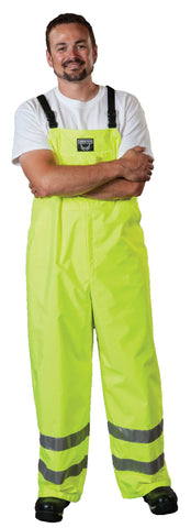 Bibbed Overalls - Waterproof - High Visibility