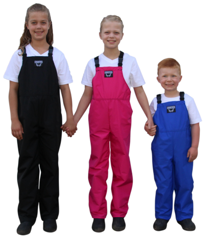 Children's Bibbed Overalls - Waterproof