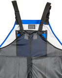 Bibbed Overalls Mesh Back - Waterproof