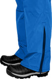 straight leg pant with zipper