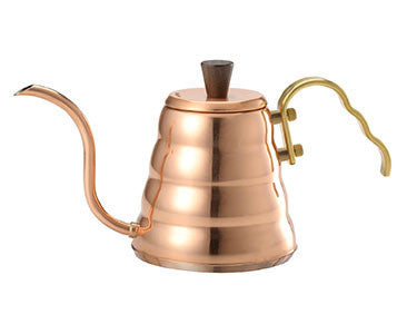 Hario V60 Gooseneck Copper Pouring Kettle - Hand Brewed Coffee