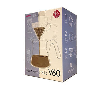 Hario Pourover Kit - Hand Brewed Coffee