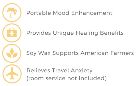 Benefits - Travel Candles