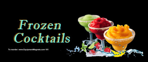 101 Frozen Cocktails Light Box