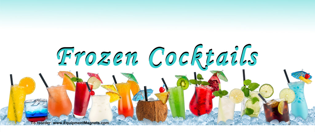 102 Frozen Cocktails Light Box