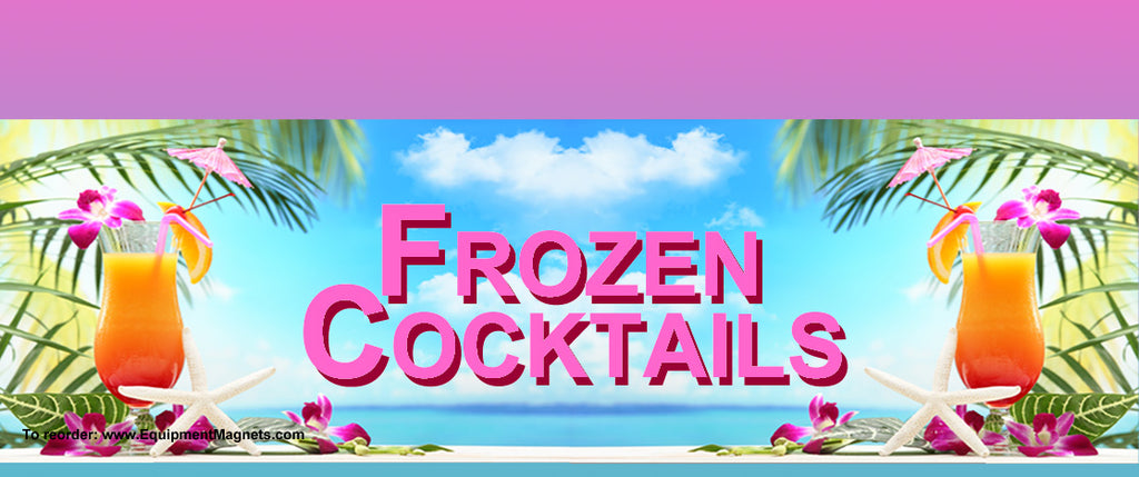 104 Frozen Cocktails Light Box