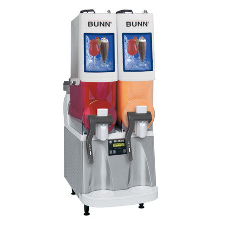 Ultra-2 WHT/SST PAF Powdered Autofill Ultra™ PAF Frozen Beverage System W/2 Hoppers 34000.0500