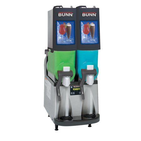 Ultra-2 BLK/SST PAF Powdered Autofill Ultra™ PAF Frozen Beverage System W/2 Hoppers 34000.0501