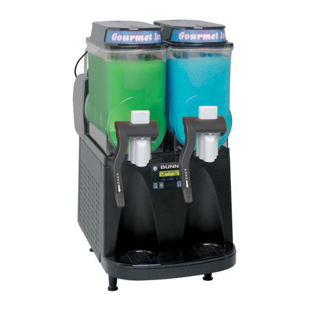 Ultra-2 BLK CFV Liquid Autofill Ultra™ Frozen Beverage System W/2 Hoppers Internal Brixing 34000.0520