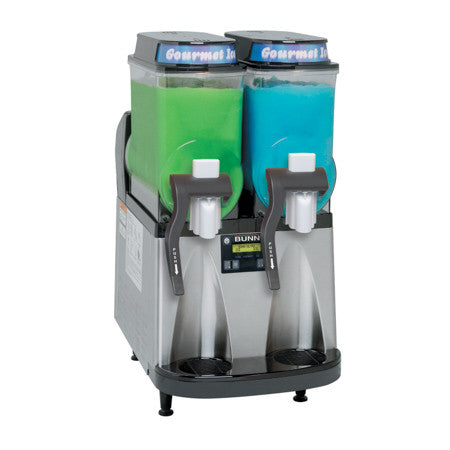 Ultra-2 BLK/SST CFV Liquid Autofill Ultra™ Frozen Beverage System W/2 Hoppers Internal Brixing 34000.0522