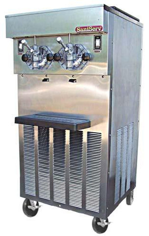 SaniServ Model 624S Floor Model Smoothie Machine with AccuFreeze Control