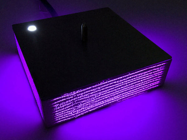 Ice-Chiller Tabletop Concrete Light concrete LED Controller
