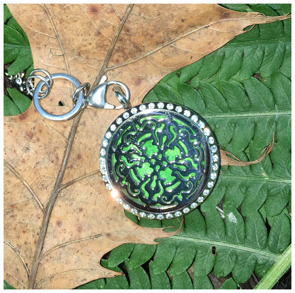 30mm Stainless Steel Round Celtic Locket